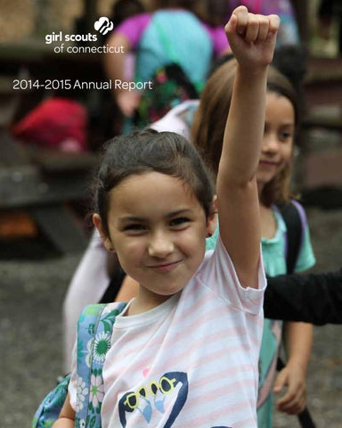 gsofct annual report 2014 2015 by girl scouts of