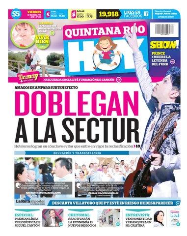 Qh220416 by Quintanaroohoy - issuu fe3858ca03972