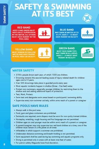 2016 YMCA Swim Program Brochure by YMCA of the Pikes Peak