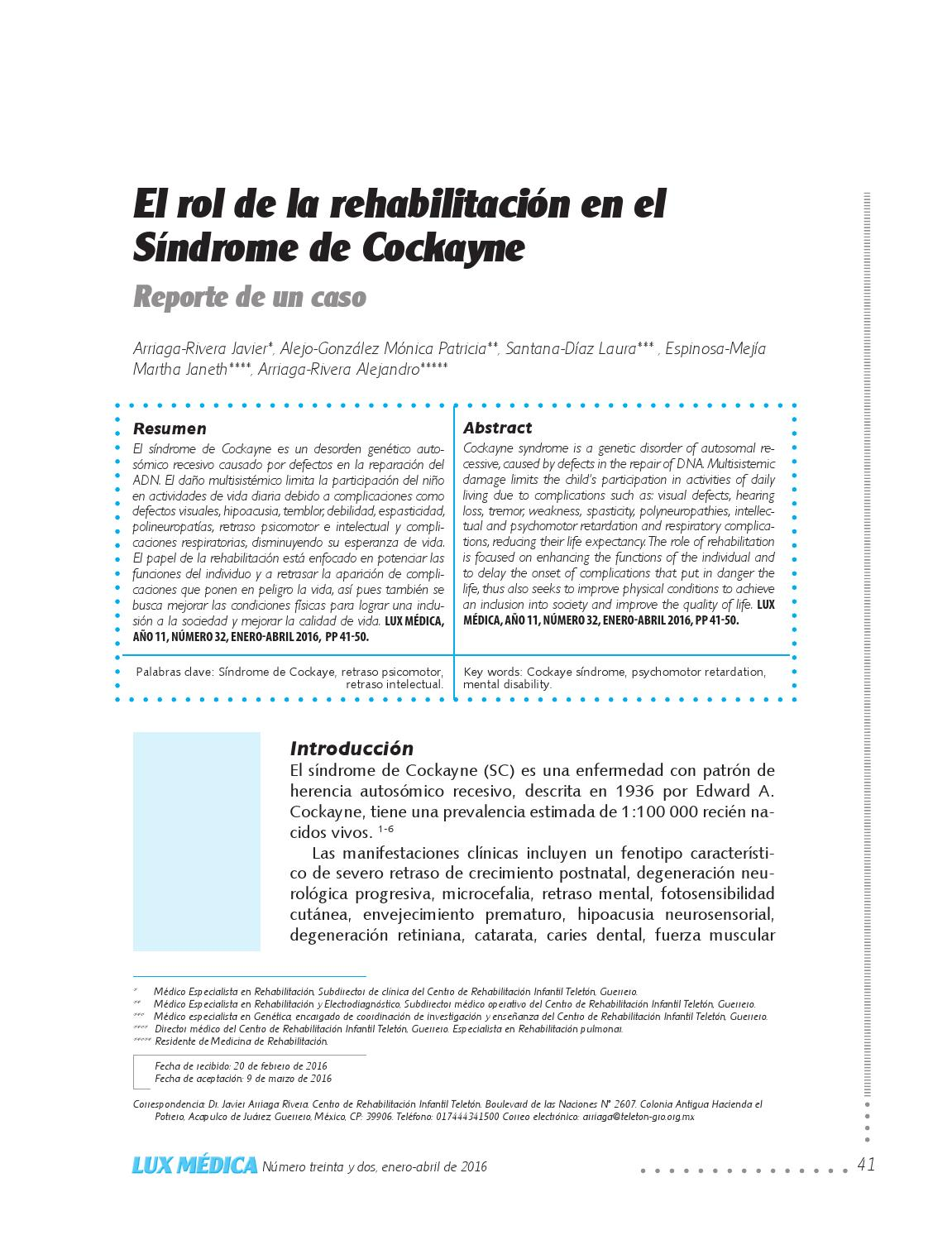 Lux Médica 32 by Universidad Autónoma de Aguascalientes / Editorial ...