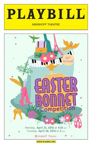Easter Bonnet Competition 2016 By Broadway Caresequity Fights Aids