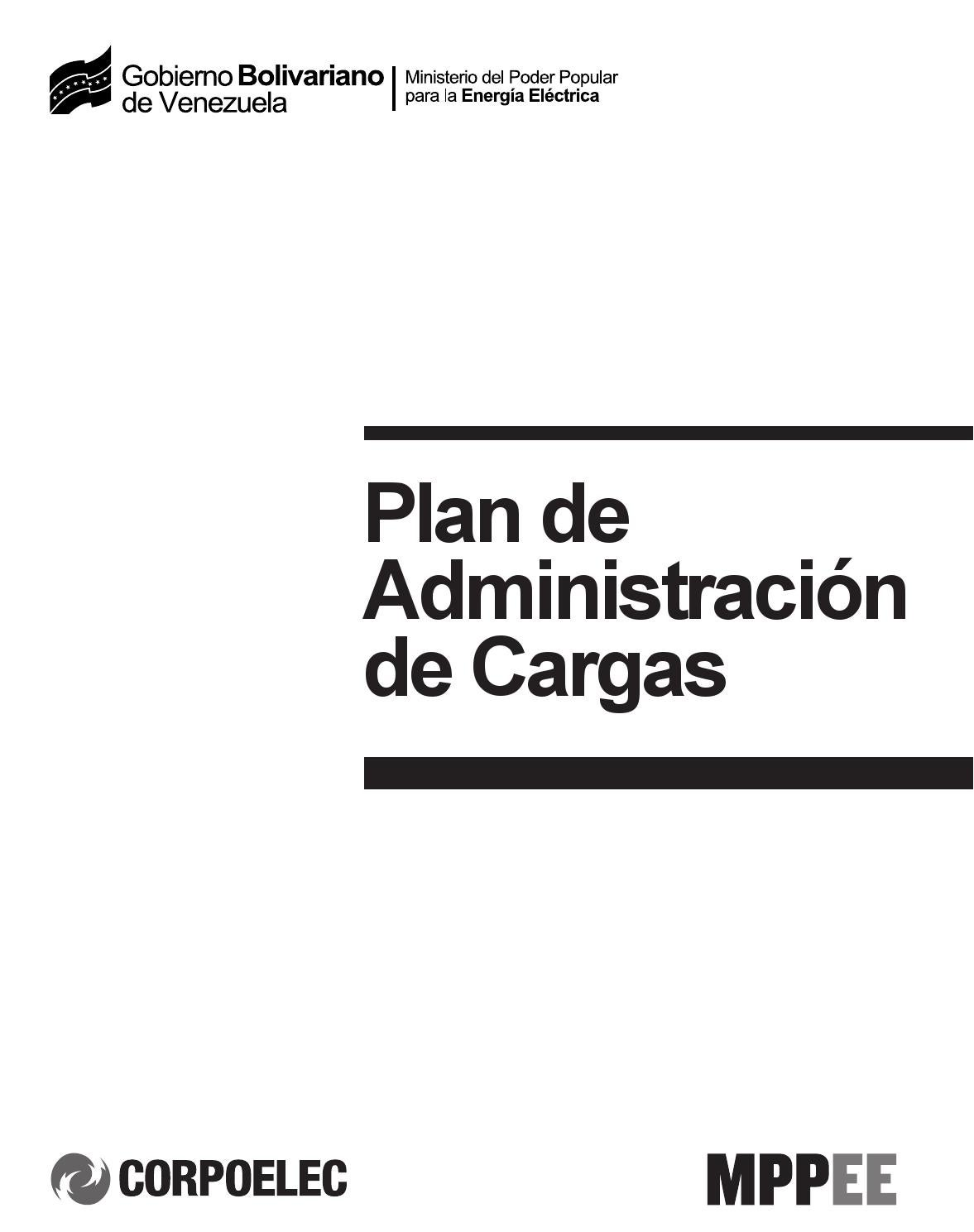 Plan De Administraci N De Cargas De Cuatro Horas By Diario  # Muebles Lalin Naguanagua