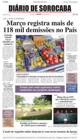Edição de 23 de abril de 2016 by DIÁRIO DE SOROCABA - issuu abb5d643b9e2d