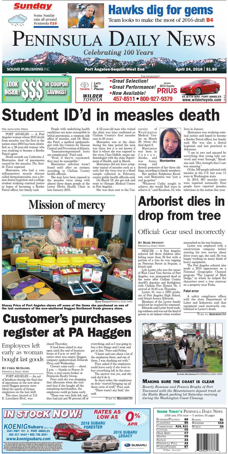 d5723c9730c PDNN20160424C by Peninsula Daily News   Sequim Gazette - issuu