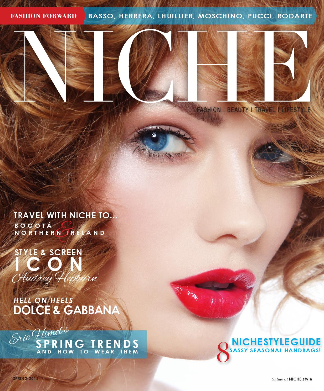 NICHE Spring Fashion Beauty by NICHE magazine - issuu