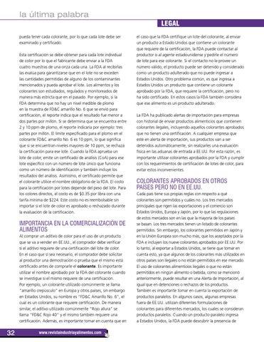 Revista Industria y Alimentos No. 71 by Revista Industria y ...