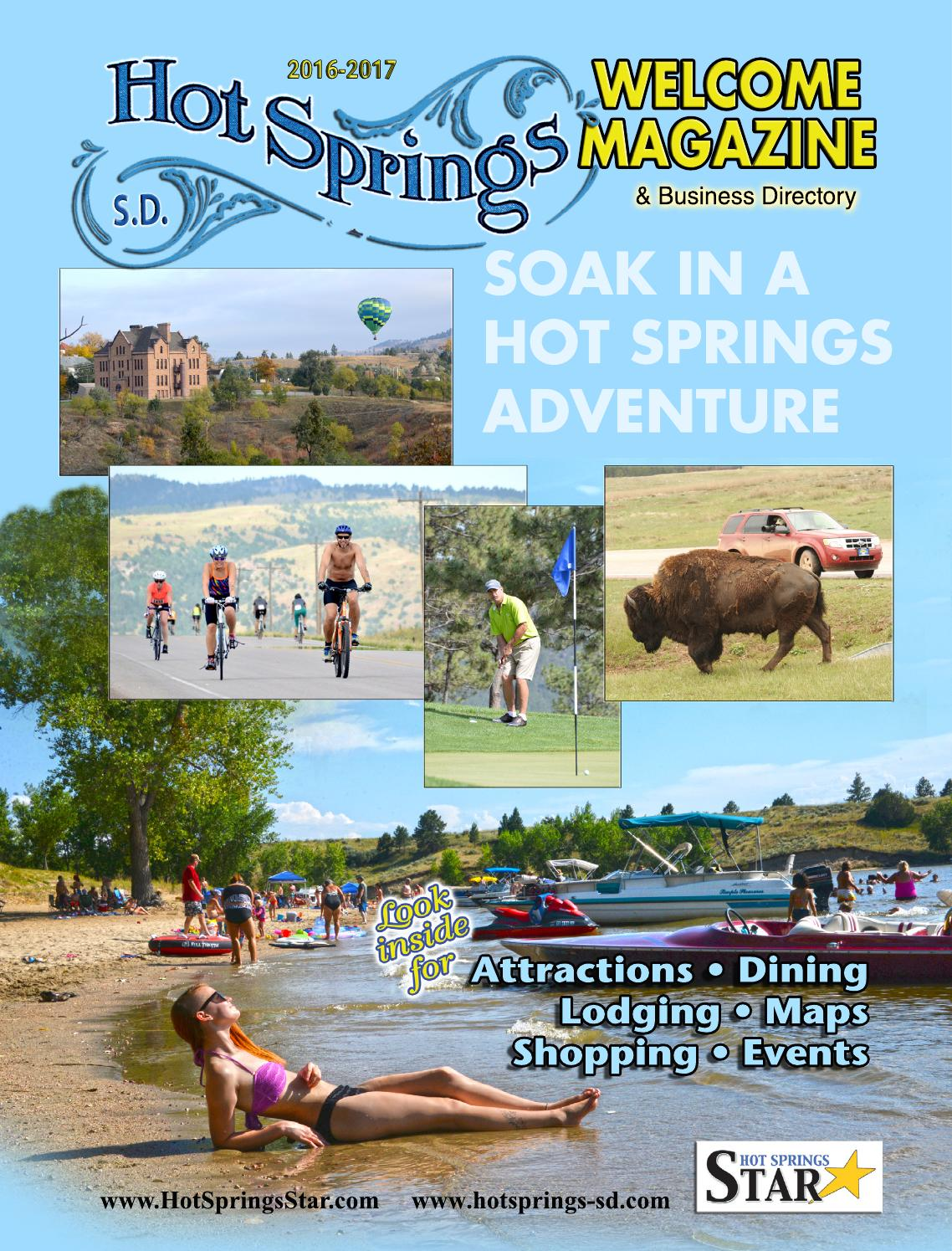 Hot springs welcome magazine 2016 by ernie wood issuu sciox Image collections