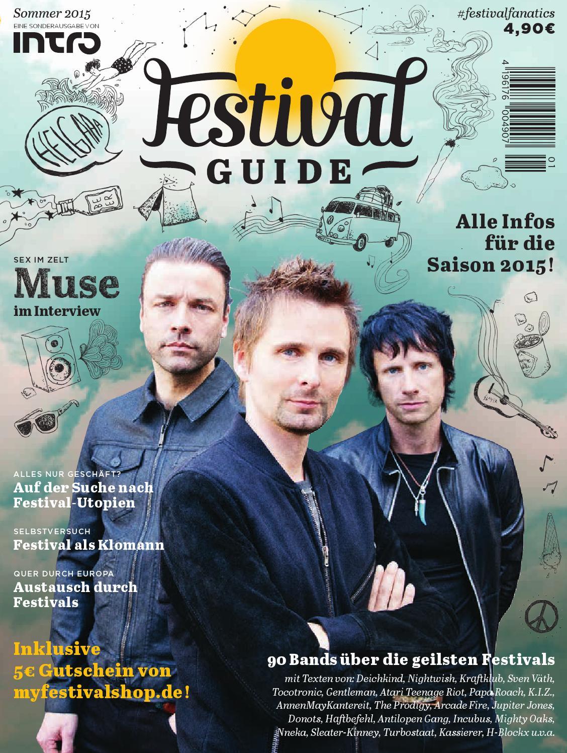 brand new 4a517 2f651 Festivalguide 2015 by Intro GmbH und Co. KG - issuu