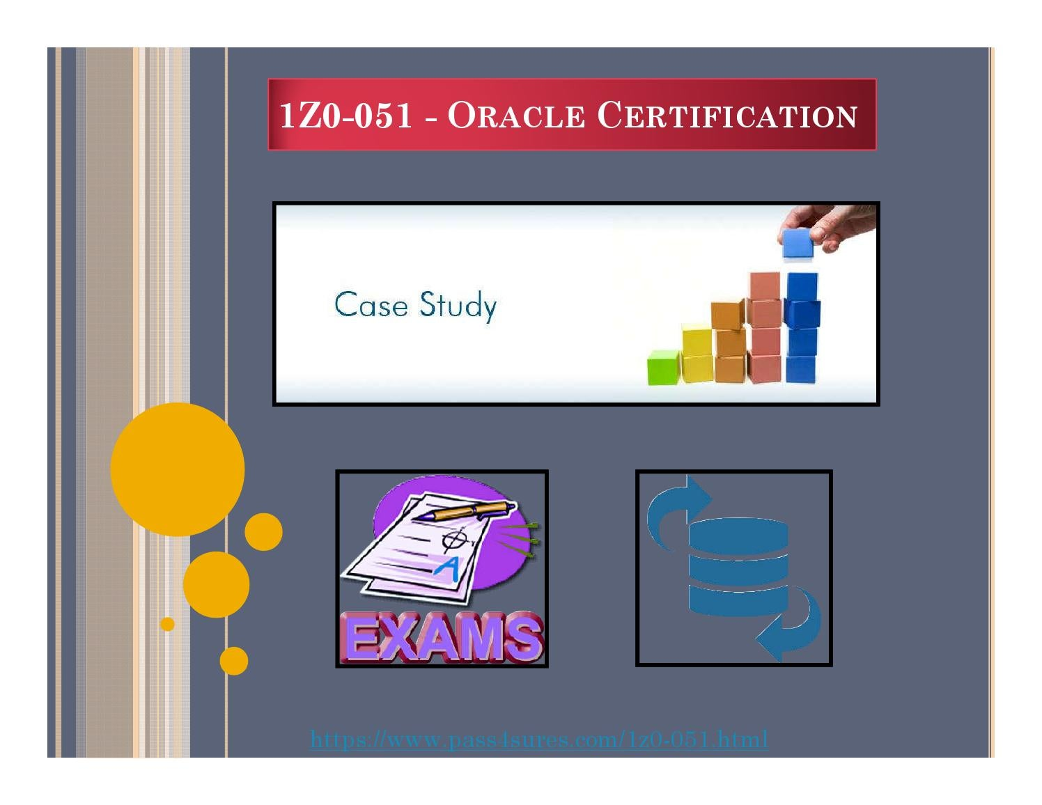 1z0 051 Oracle Certification By Latest 010 100 Pdf Download Material