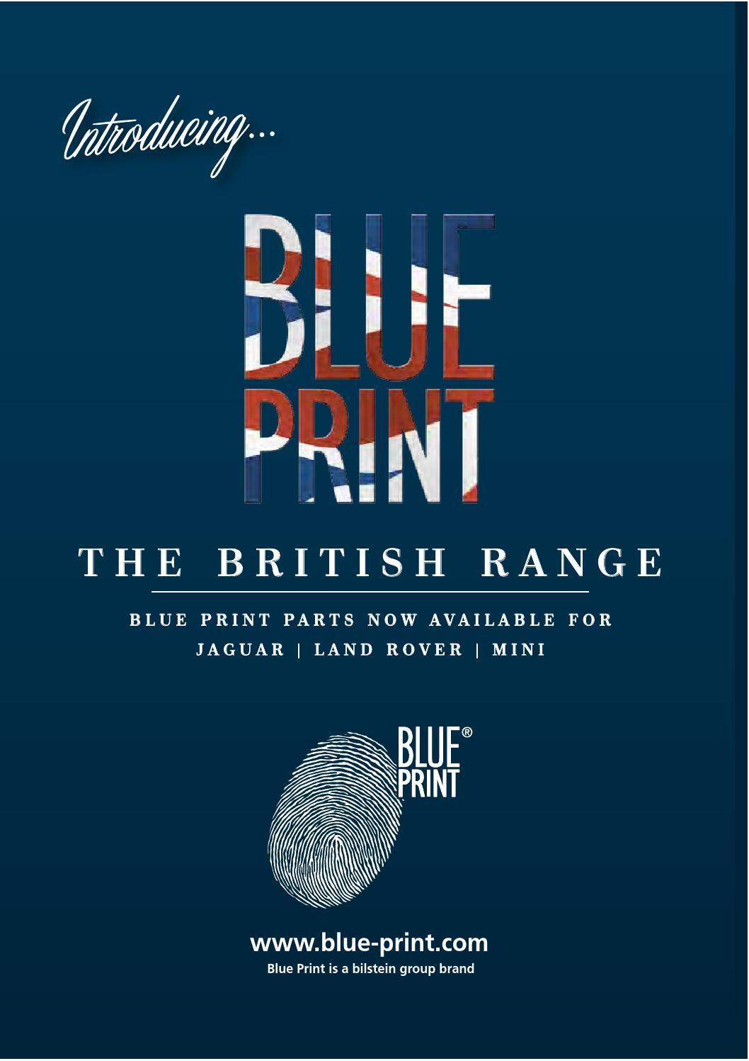 No 2 Brake Disc Blue Print ADJ134329 Brake Disc Set of Holes 5 full front