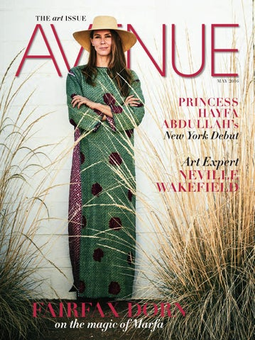 0fdfd85f8e5 AVENUE May 2016 by AVENUE Magazine - issuu