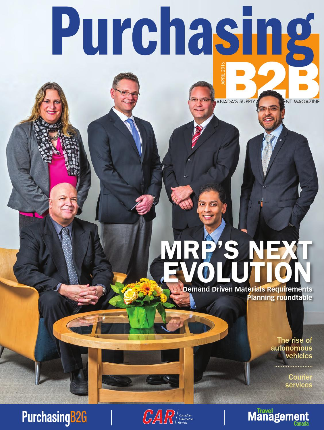 Purchasing B2B April 2016 by Annex Business Media - issuu