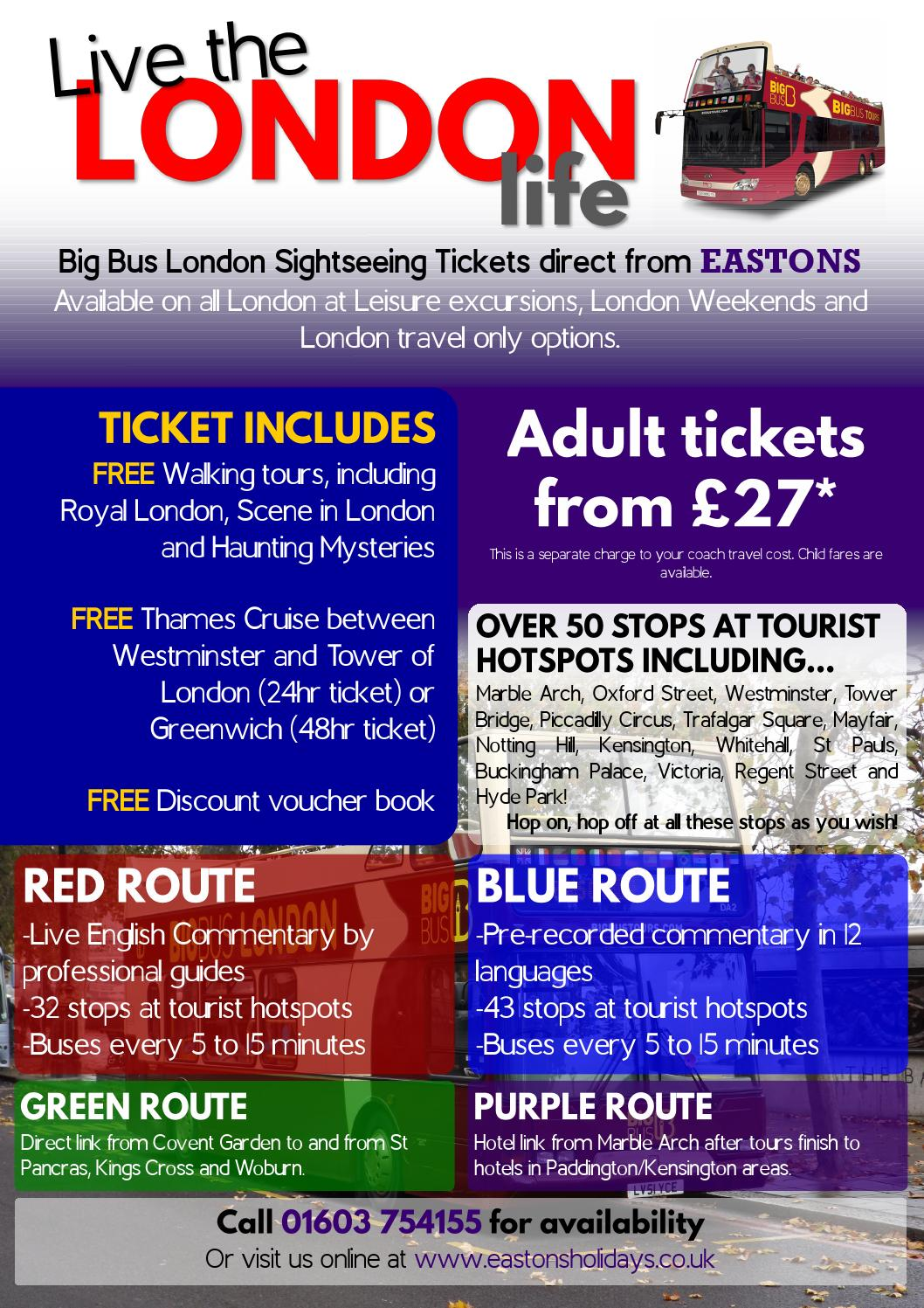Eastons Big Bus Tours 2016 Flyer By Eastons Holidays Issuu