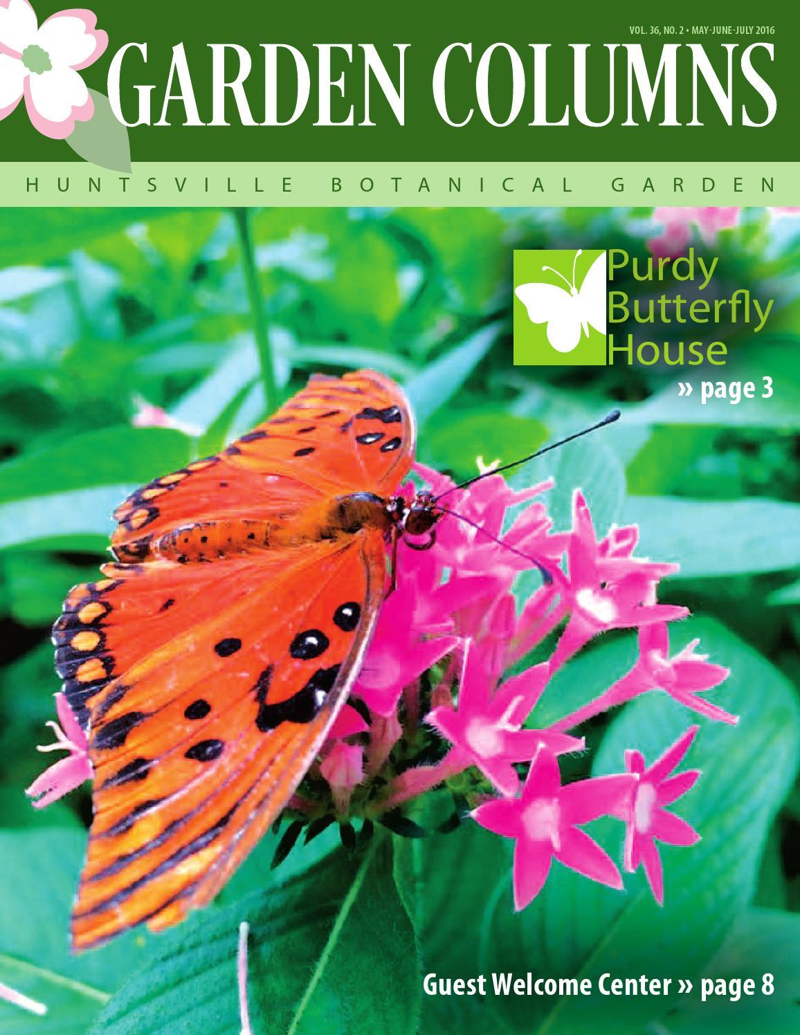 Mayjunejuly16 Newsletter Web By Huntsville Botanical Garden Issuu