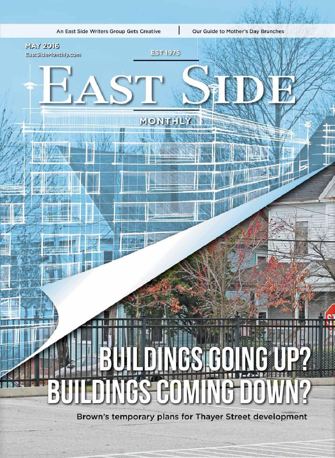 East Side Monthly May 2016 by Providence Media - issuu