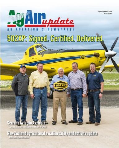may 2016 international edition in english by agair update issuu rh issuu com air tractor 802 maintenance manual Air Tractor Gunship