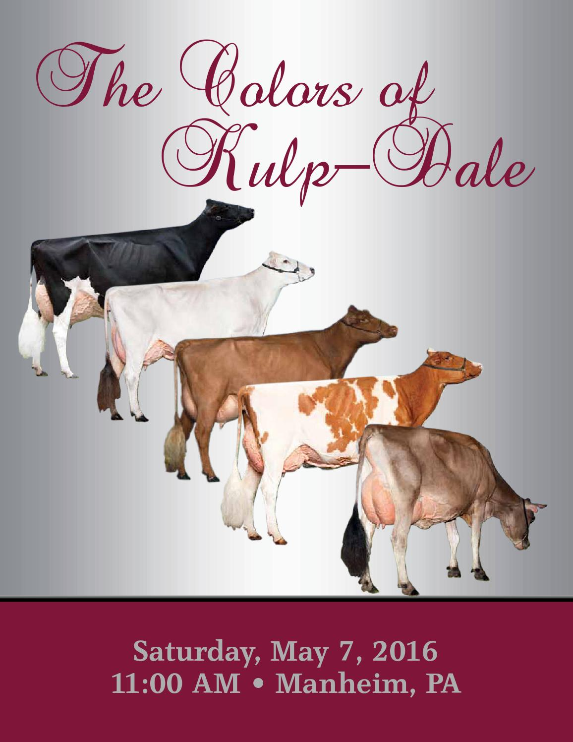 The Colors Of Kulp Dale Sale By Cattle Exchange Issuu Etta Goat Milk