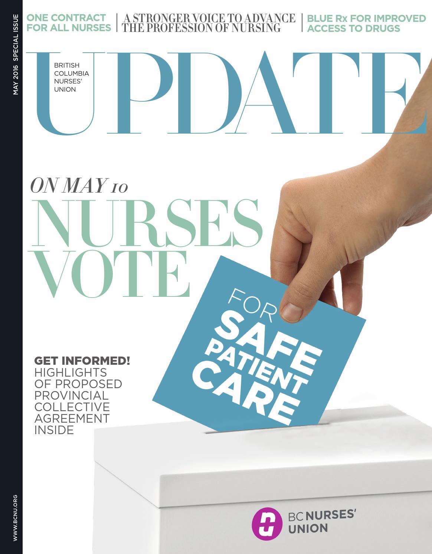 Bcnu Update Magazine May 2016 By Bc Nurses Union Issuu