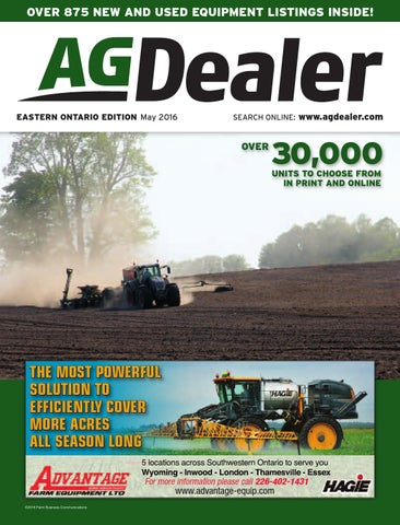 AGDealer Eastern Ontario Edition, March 2016 by Farm
