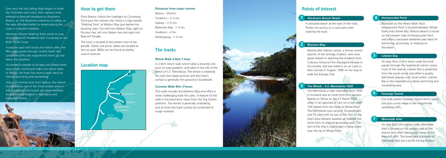 Abrahams Bosom Walking Track by Visit Shoalhaven - issuu
