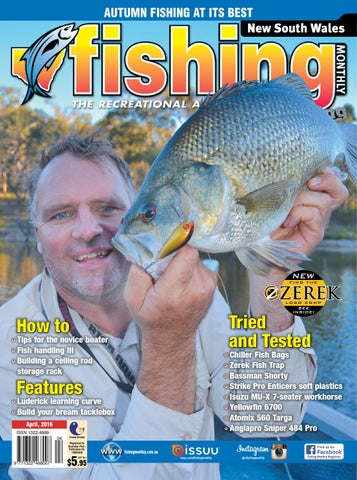 4afb29a42f3 New South Wales Fishing Monthly - April 2016 by Fishing Monthly - issuu
