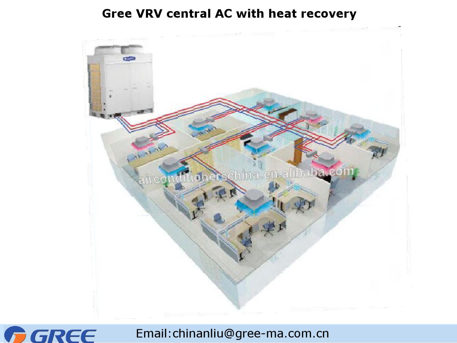 Gree vrv central ac with heat recovery by Gree - issuu