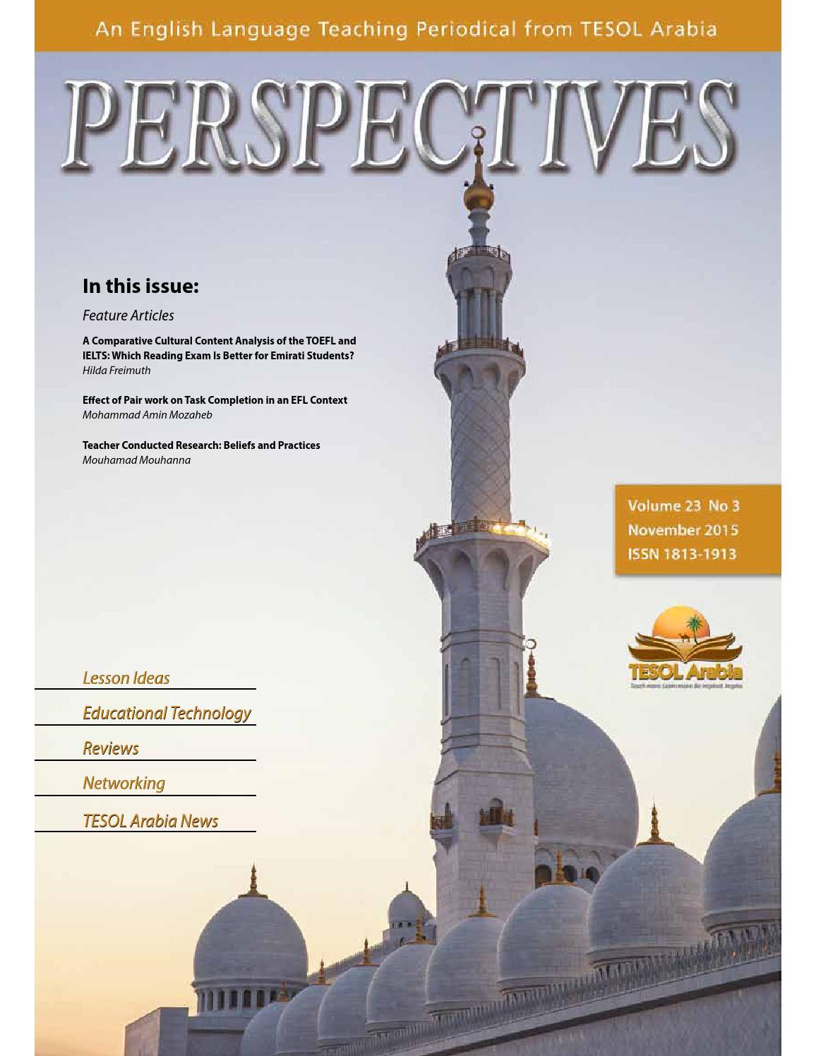 nov 2015 by tesol arabia perspectives issuu
