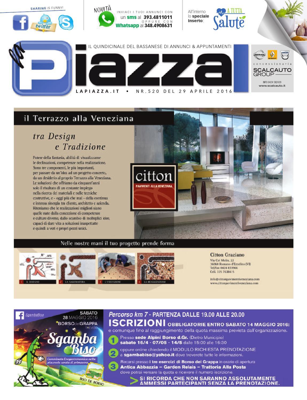 la Piazza di Bassano 520 by la Piazza di Cavazzin Daniele - issuu 776b3fb0d94
