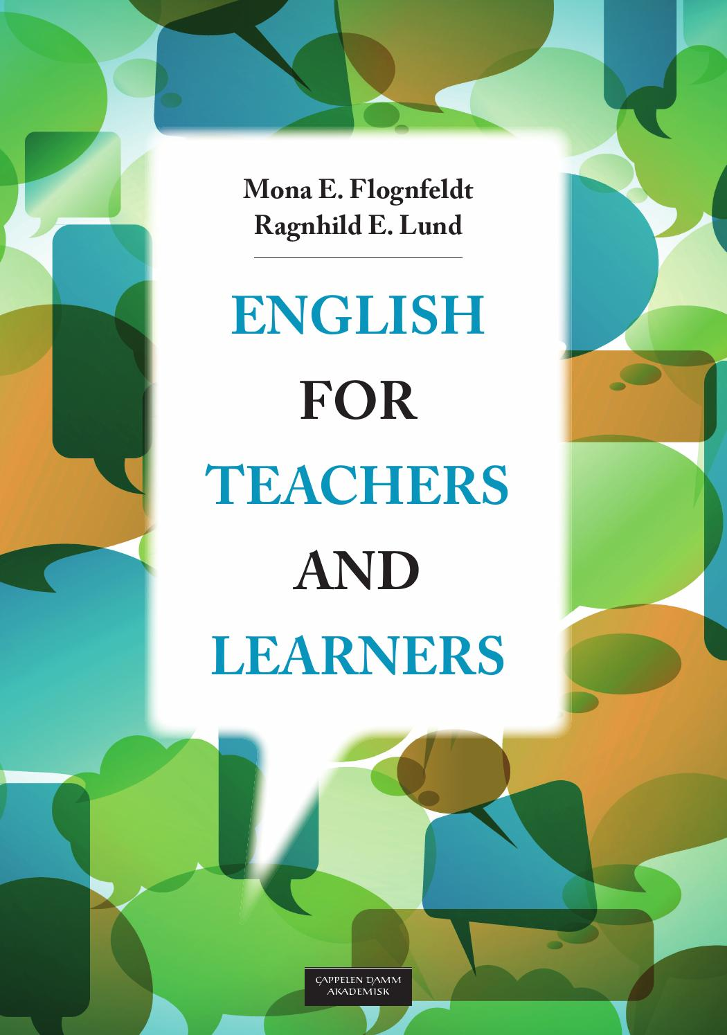 English for teachers and learners by Cappelen Damm - issuu