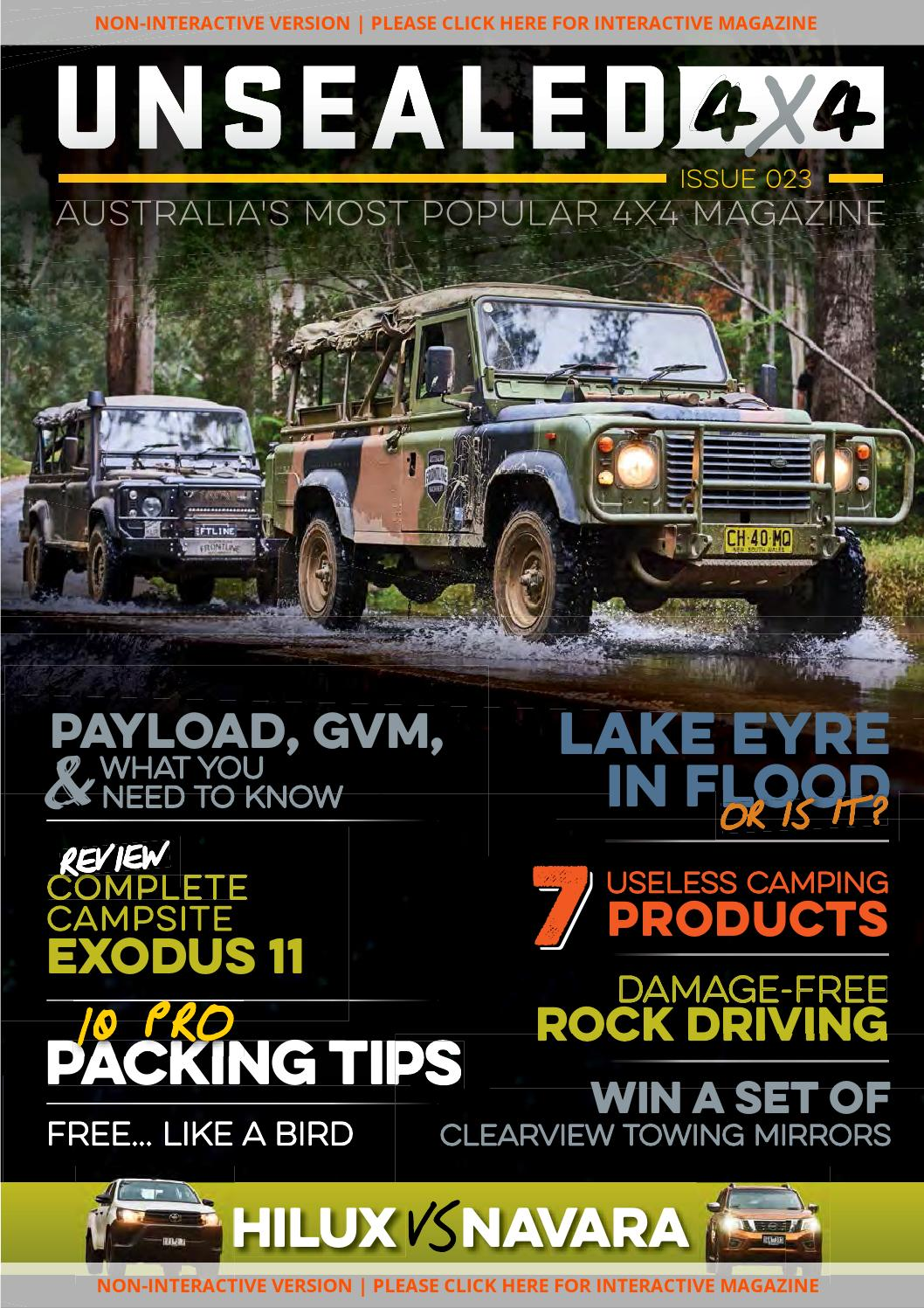 UNSEALED 4X4 ISSUE 023 by UNSEALED 4X4 - issuu