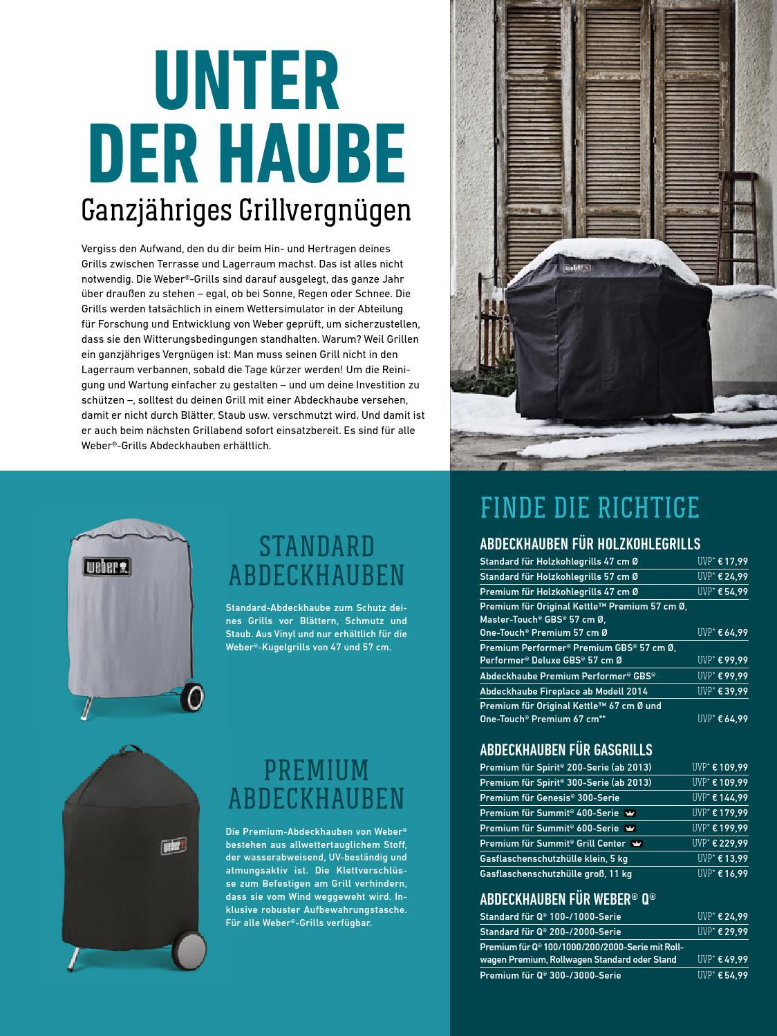 Weber Premium Abdeckhaube Spirit 200-Serie ab 2013