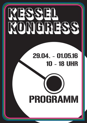 Kessel Kongress 2016 Programm by Popbüro Region Stuttgart - issuu