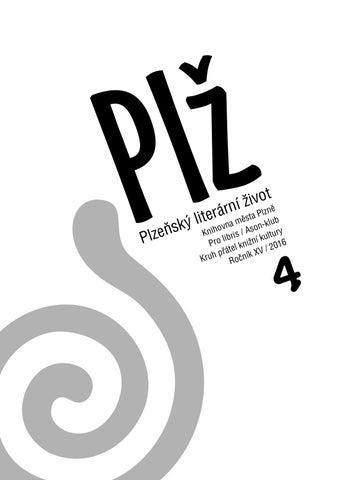 8a39779b7 Plž 4/2016 by Knihovna Plzeň - issuu