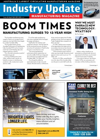 industry update issue 89 april 2016 by industry update magazine issuu