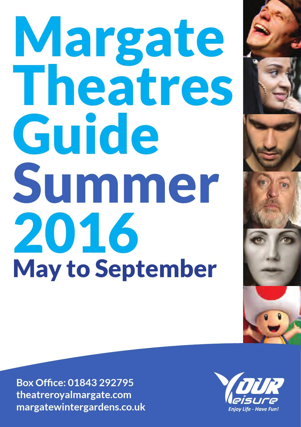 margate theatres summer brochure 2016 by yourleisure issuu