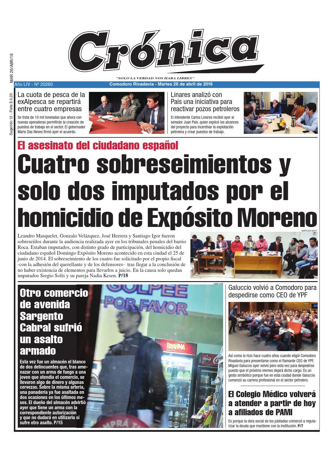 8325cb9699eb3c1b9642268942883772 by Diario Crónica - issuu