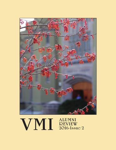 Alumni Review 2016 Issue 2 By Vmi Alumni Agencies Issuu