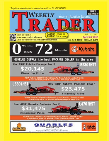 Weekly Trader April 28, 2016 by Weekly Trader - issuu