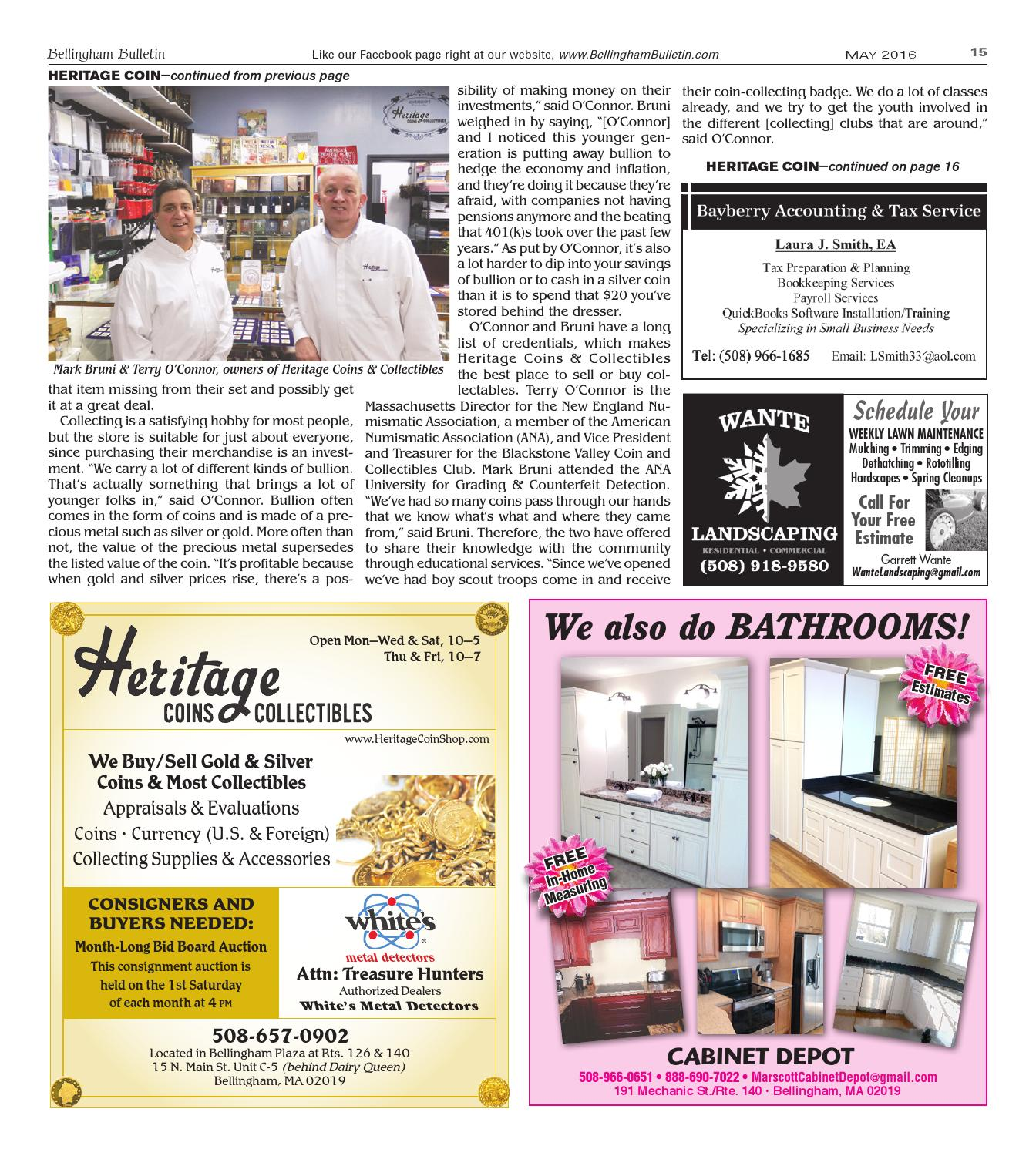 May issue of the Bellingham Bulletin by Bellingham Bulletin - issuu