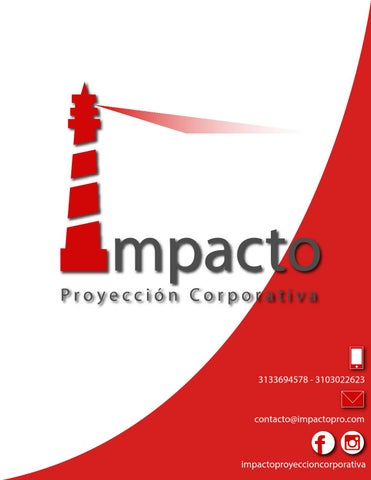 Catálogo impacto 2016 by Impacto Proyección Corporativa - issuu 0d4015e0745