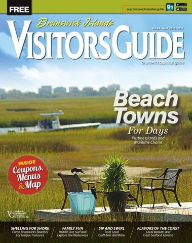 bbe3e196f2ca Brunswick Islands   Cape Fear Coast Visitors Guide 2016-2017 by ...