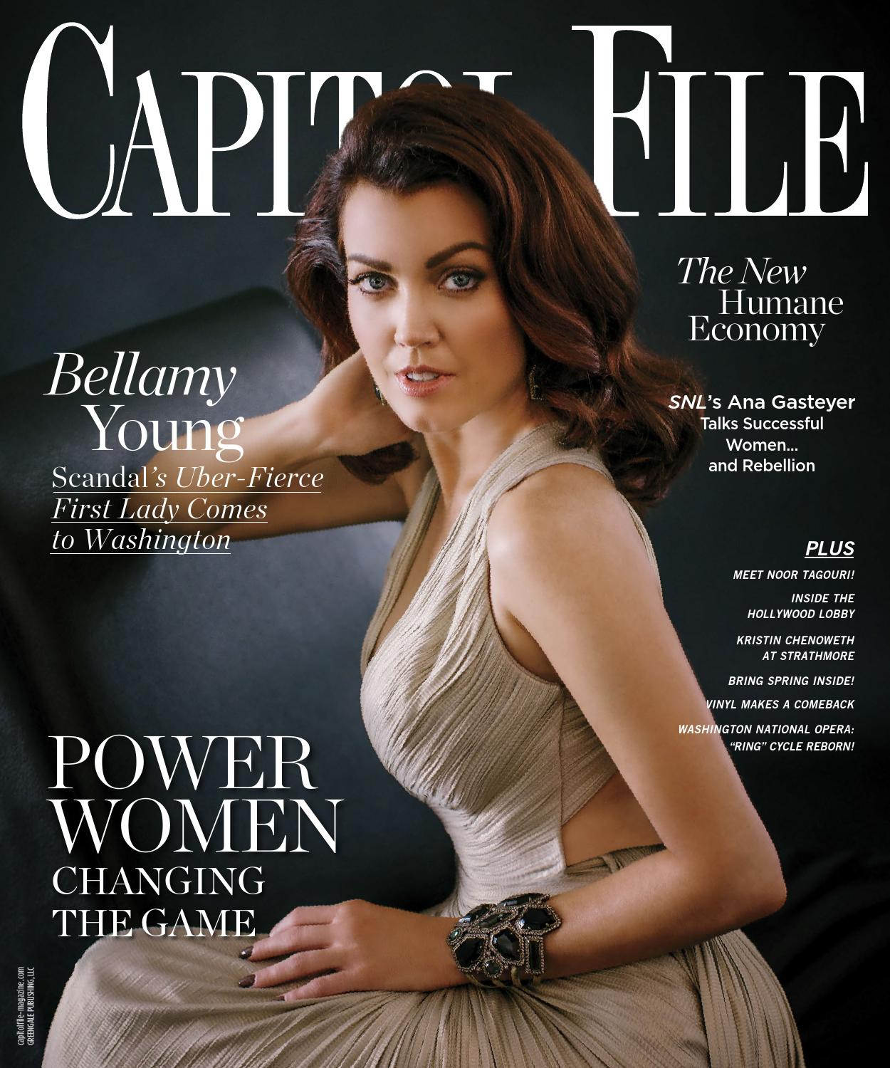 Capitol File - 2016 - Issue 2 - Late Spring - Bellamy Young