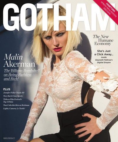 06df985ca9386 Gotham - 2016 - Issue 2 - Late Spring - Malin Akerman by MODERN ...