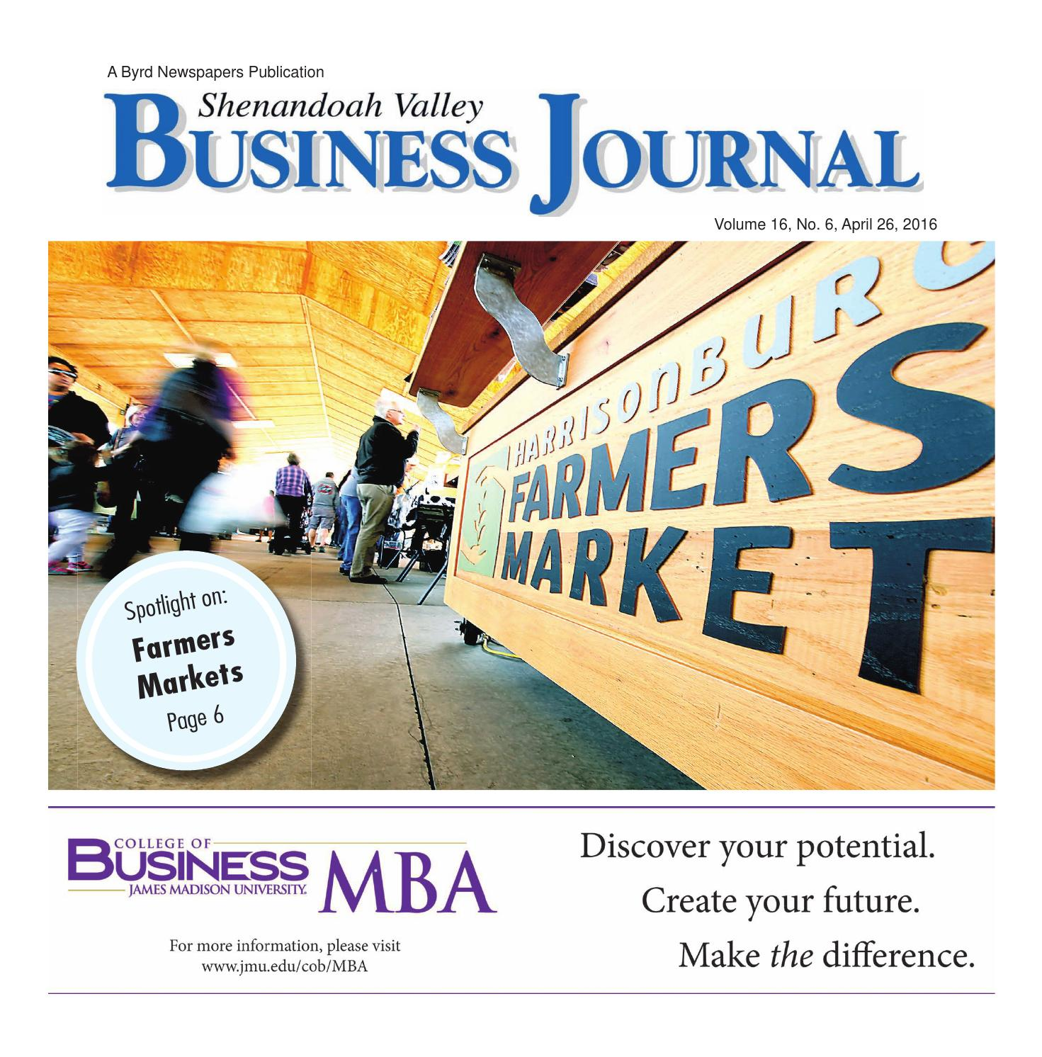 Shenandoah valley business journal by Daily News-Record