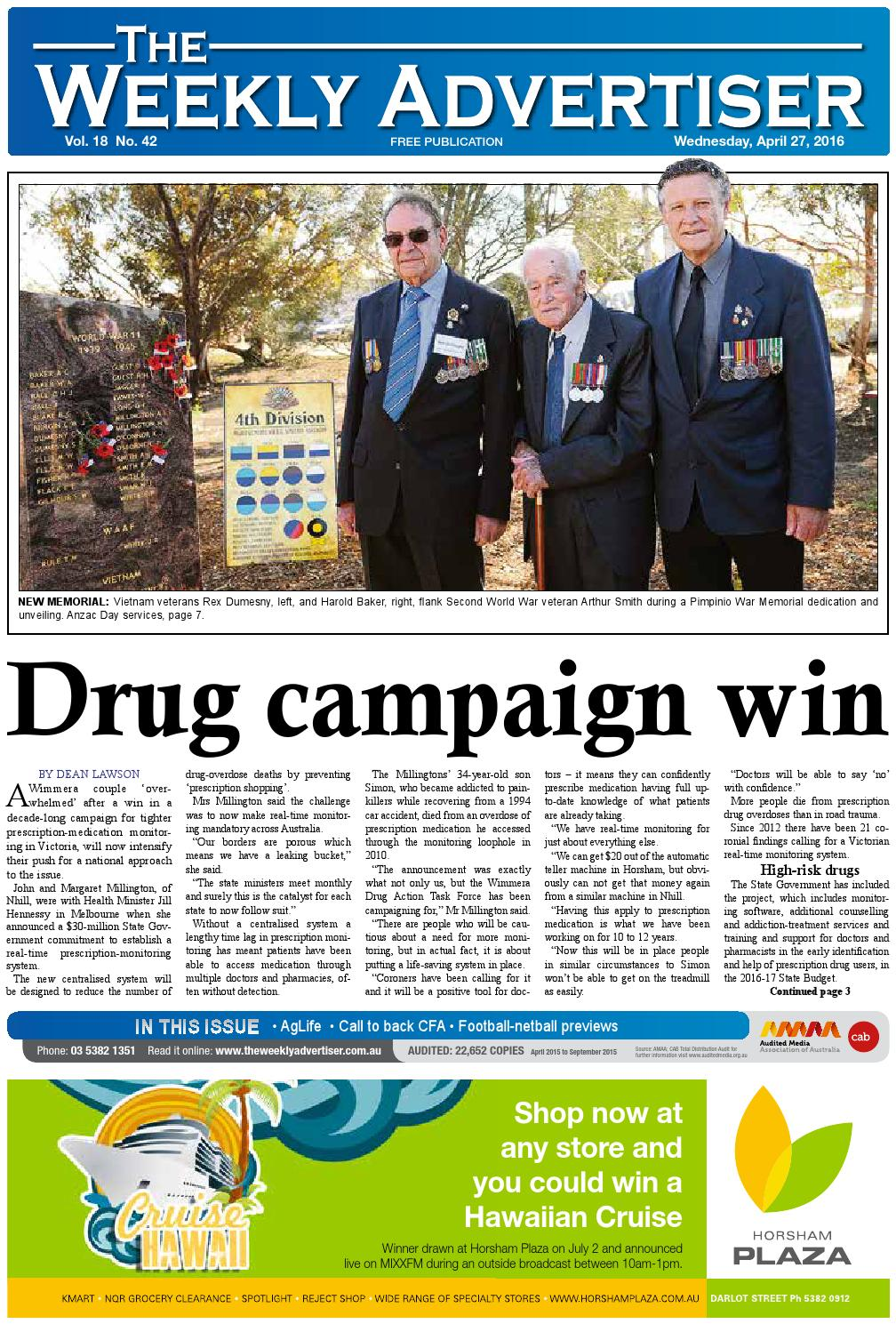 22474c3546 The Weekly Advertiser - Wednesday