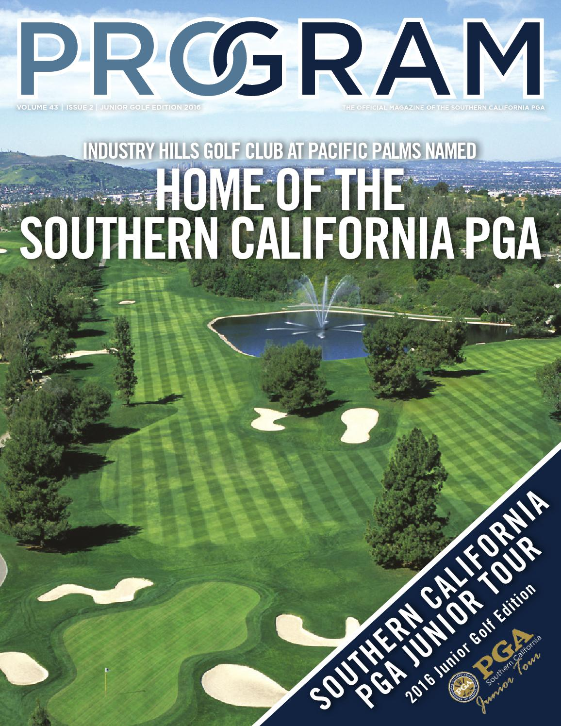 2016 program magazine junior golf edition by southern california