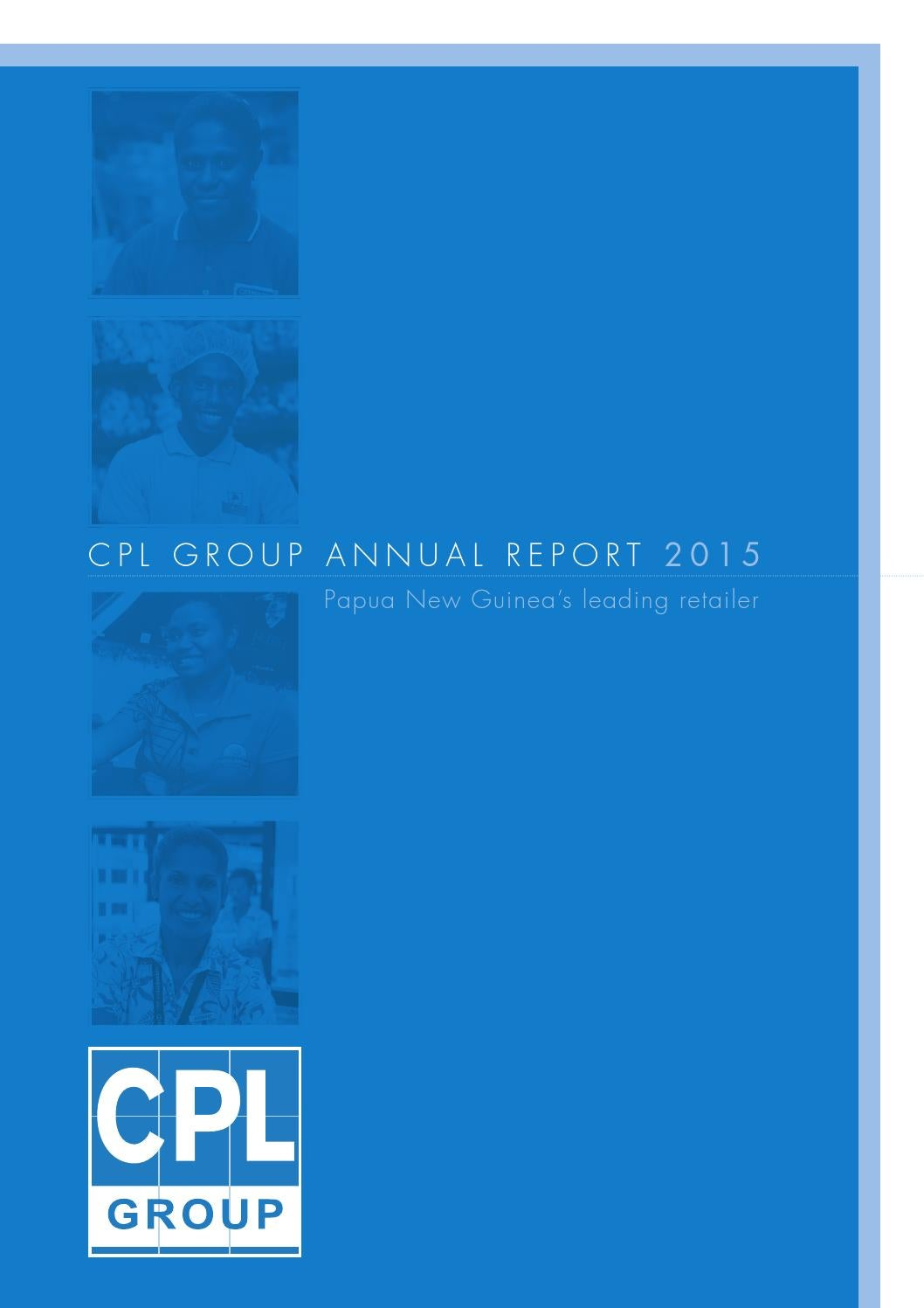 CPL Group Annual Report 2015 by Business Advantage International ...