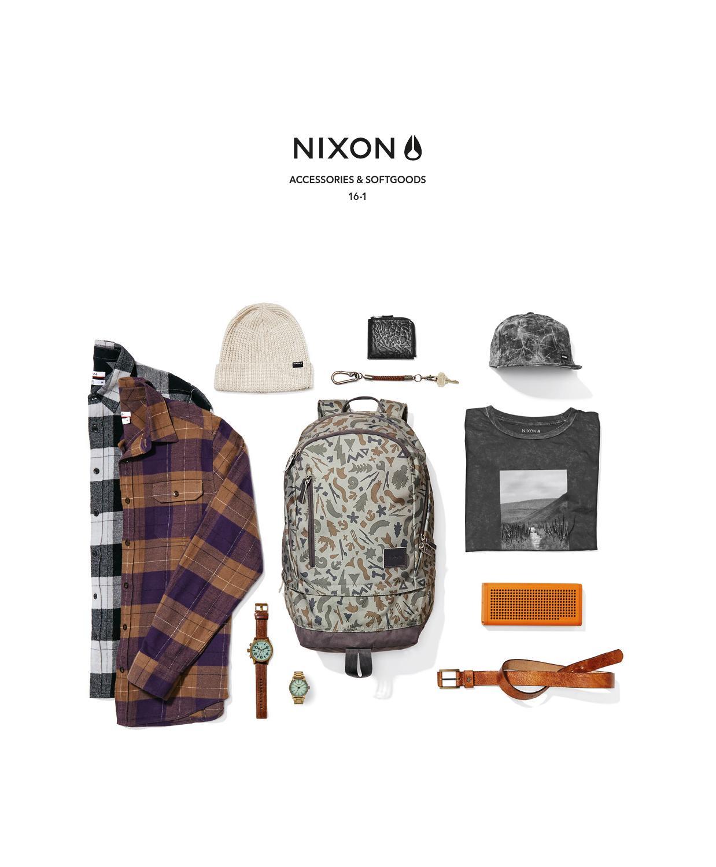 Nixon Nova Key Chain Walnut