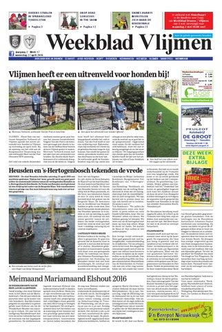 Weekblad Vlijmen 27 04 2016 By Uitgeverij Em De Jong Issuu