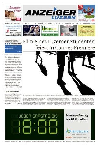 Anzeiger Ausgabe 17, 27 4 2016 By Anzeiger Luzern   Issuu